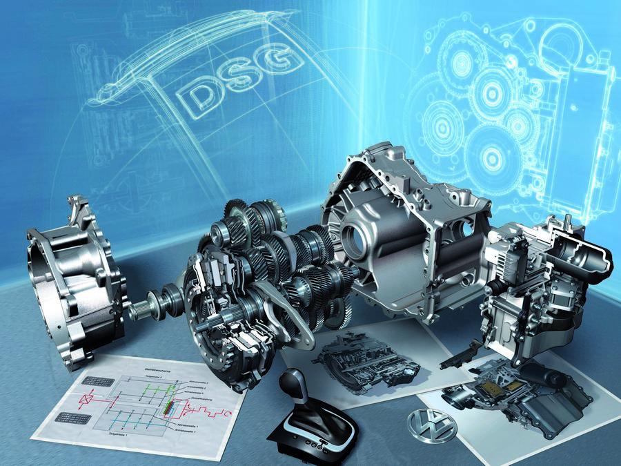 DSG Barcelona 2008 /Das neue 7-Gang Doppelkupplungsgetriebe DSG: