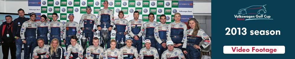 Volkswagen Golf Cup season 2013